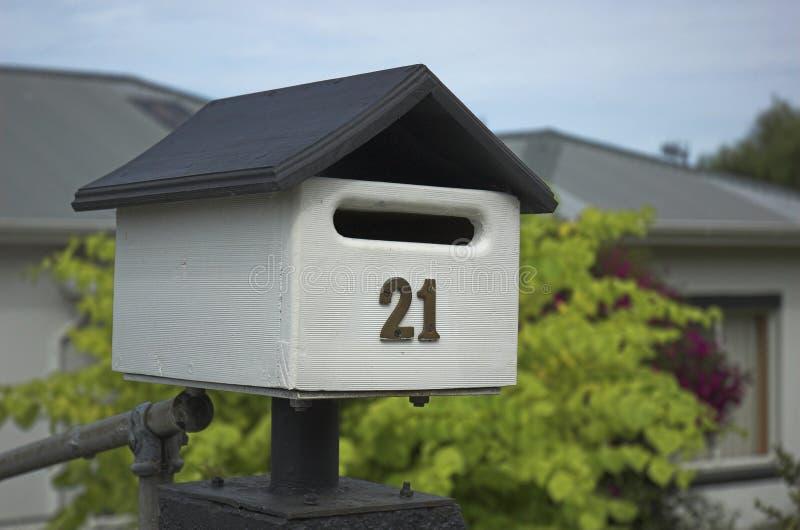Nette Mailbox lizenzfreies stockbild