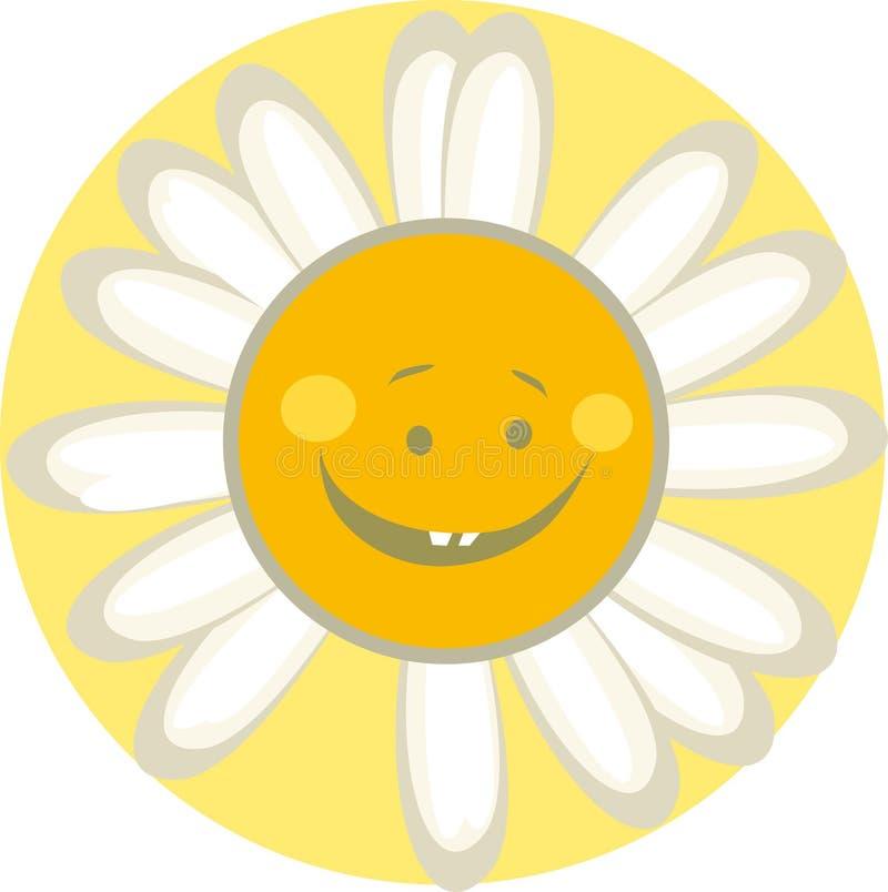 Nette Sonne stock abbildung