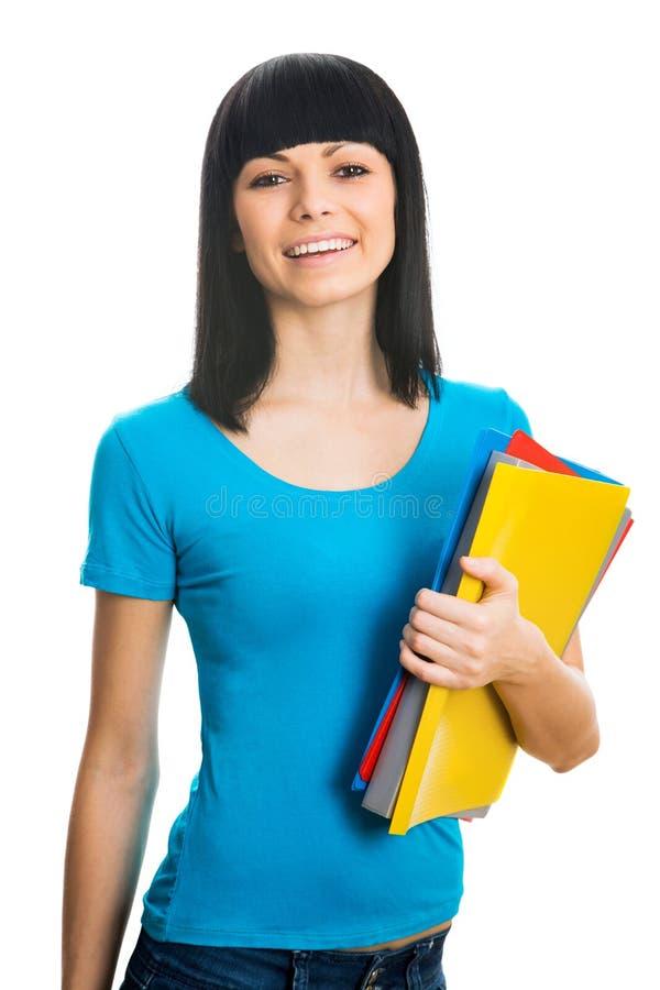 Nette Studentin stockbild