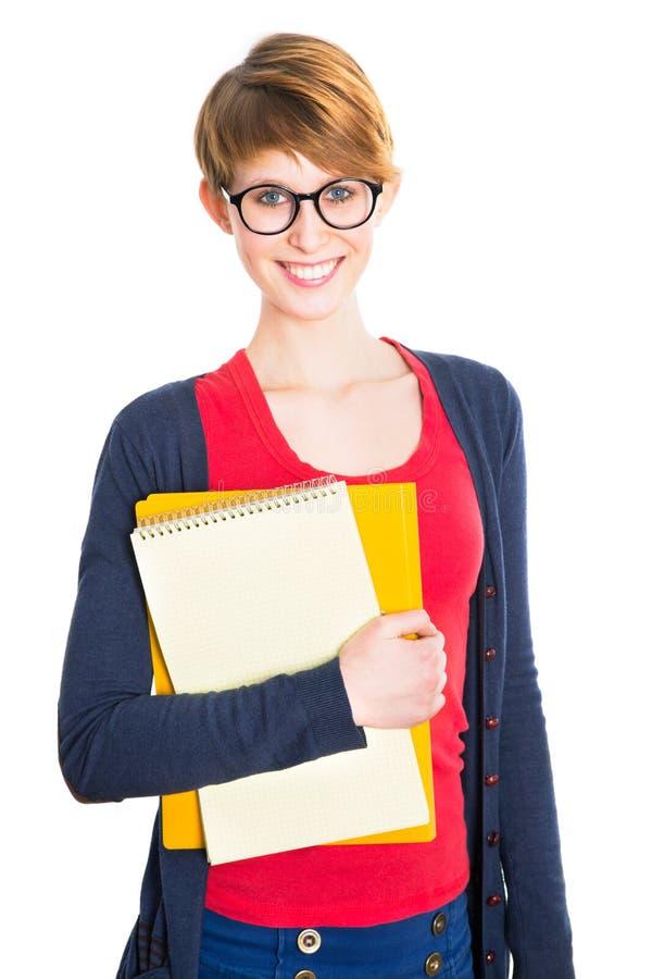 Nette Studentin stockbilder