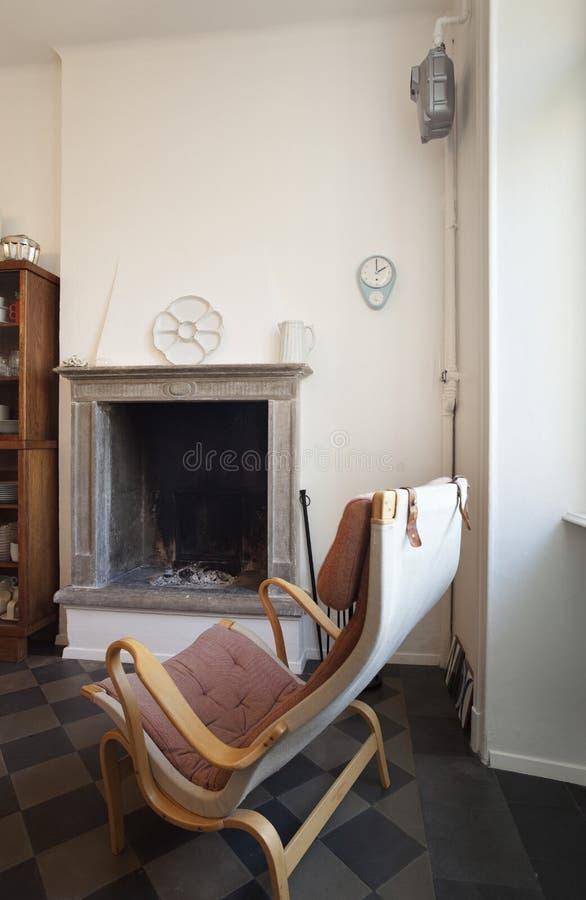 Nette Wohnung ausgestattet, Küche stockfotografie