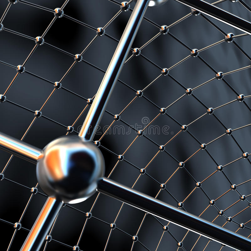 Netted abstraction royalty free stock photos