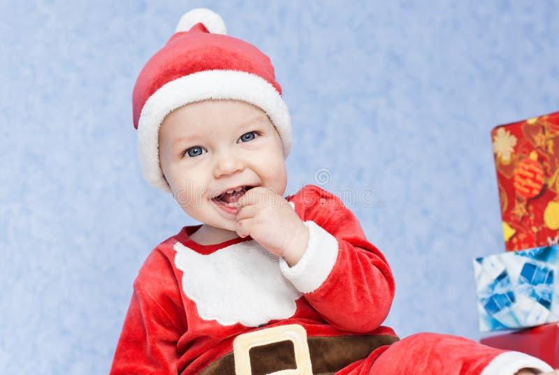 Netter Babysankt-Helfer stockfoto