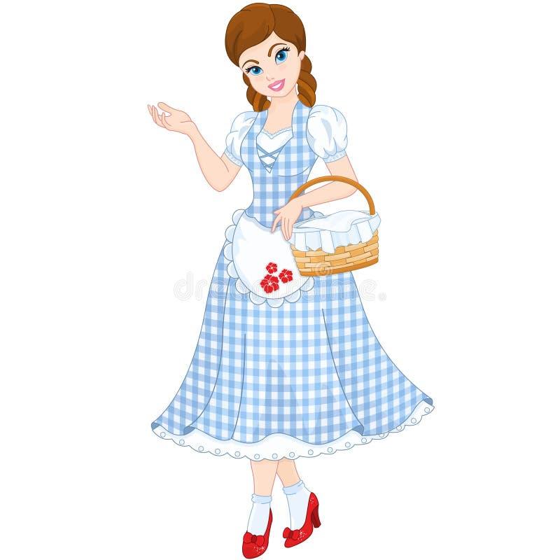 Netter Dorothy vektor abbildung
