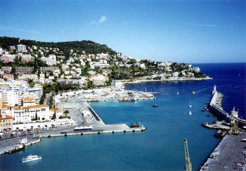 Netter (Frankreich-) Hafen stockbild