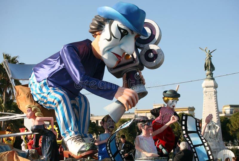 Netter Karneval 2011 stockbild