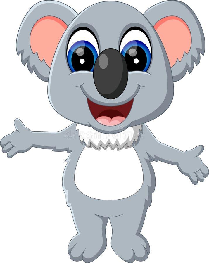 Netter Koala stock abbildung