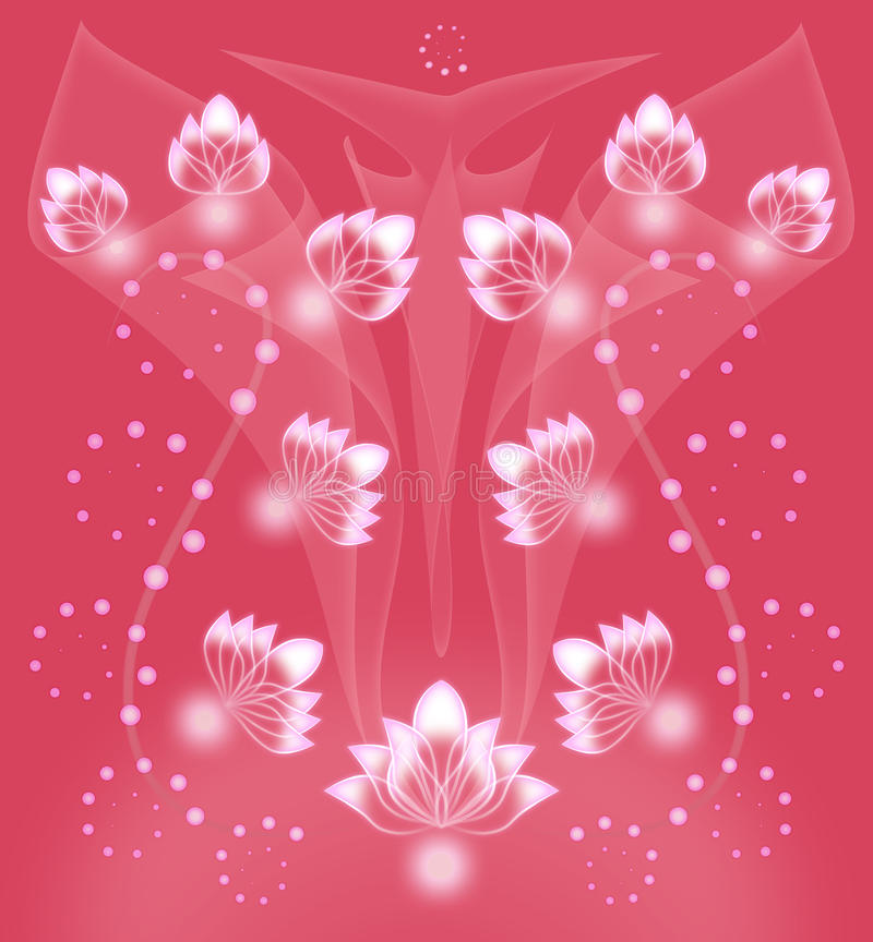 Netter korallenroter Hintergrund lizenzfreies stockbild