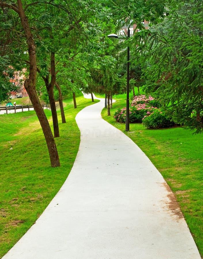 Netter Park stockbilder