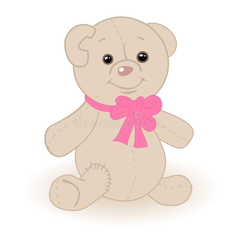 Netter Teddybär stock abbildung