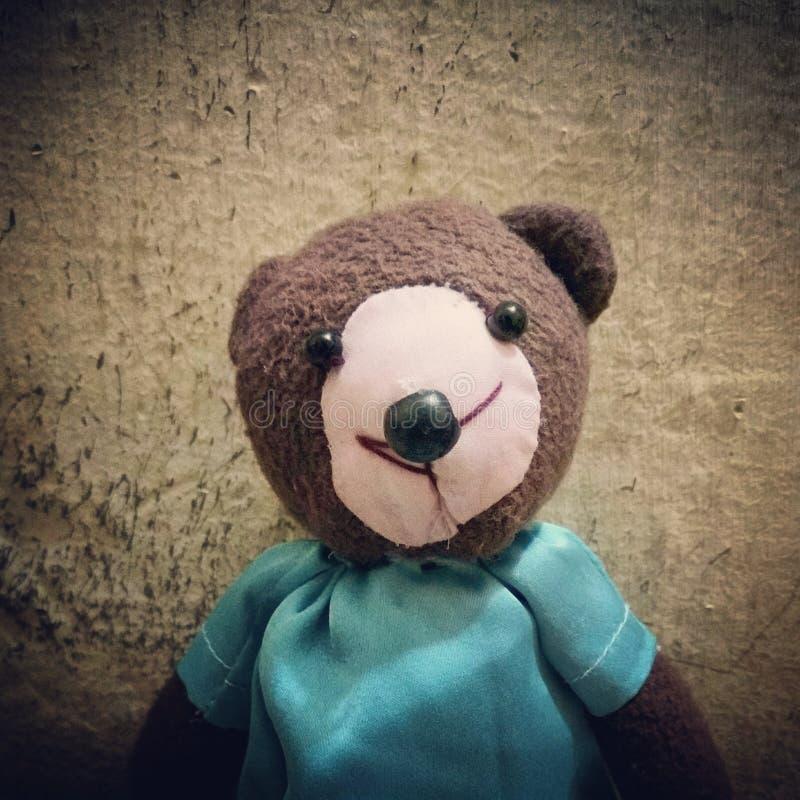 Netter Teddybär! stockfotos