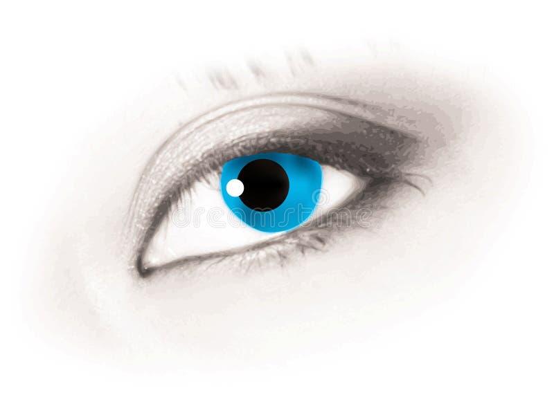 Nettes Auge lizenzfreie abbildung