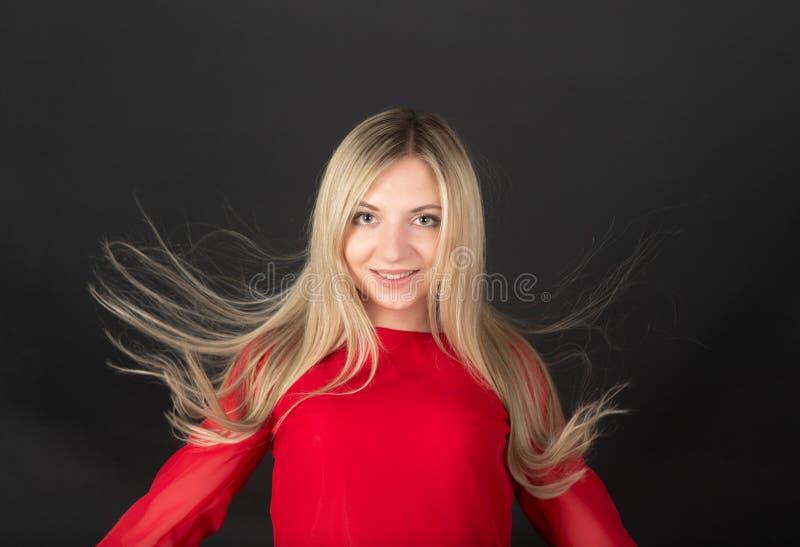 Nettes blondes lizenzfreies stockfoto