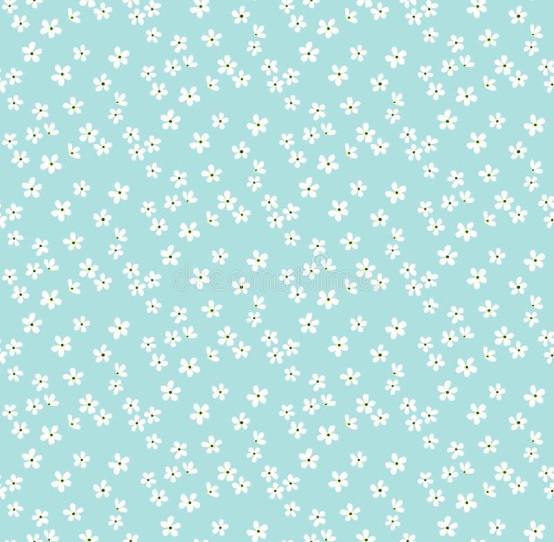 Nettes Blumenmuster lizenzfreie abbildung