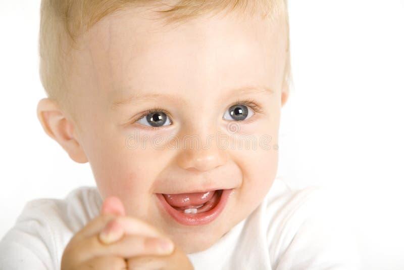 Nettes entzückendes Baby stockbilder