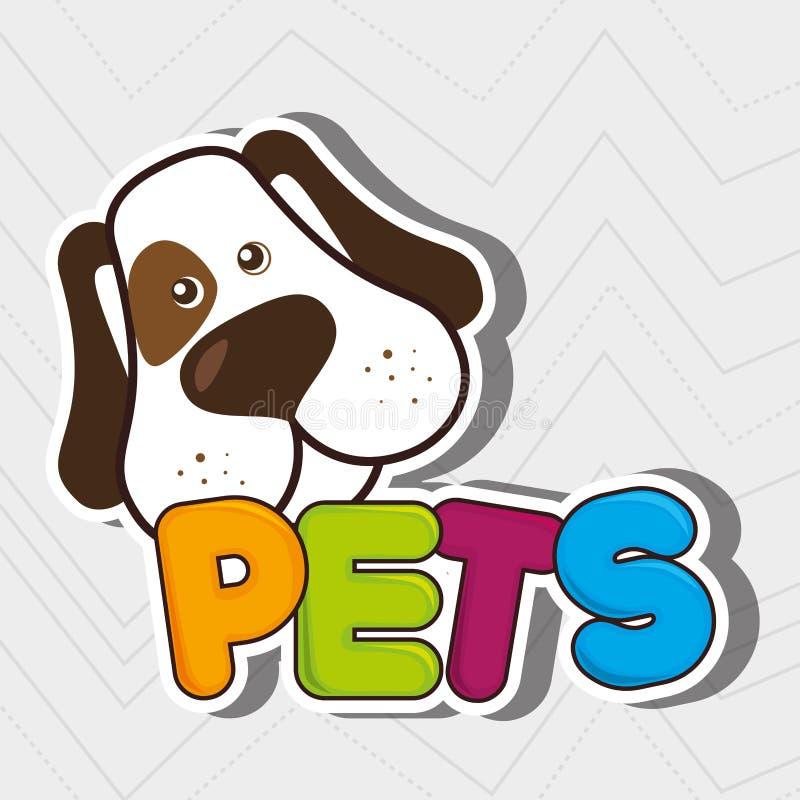 nettes Haustierdesign lizenzfreie abbildung