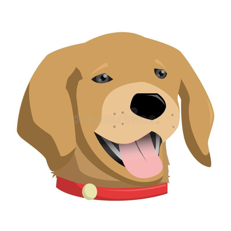 Nettes Hundehaustier lizenzfreies stockbild
