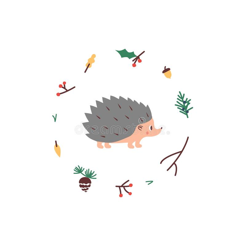 Nettes Igeles Vektor illustrtion Minimalistic-Entwurf, Bild der Kind s vektor abbildung
