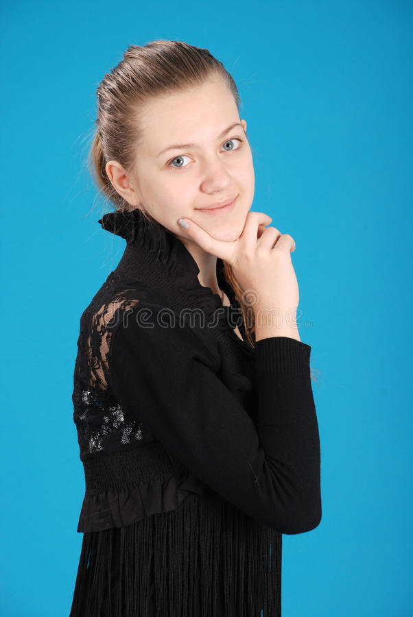 Nettes junges Mädchen lizenzfreie stockfotos