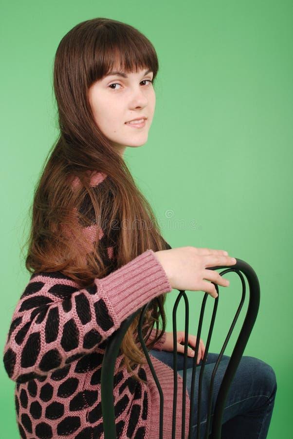 Nettes junges Mädchen lizenzfreie stockbilder