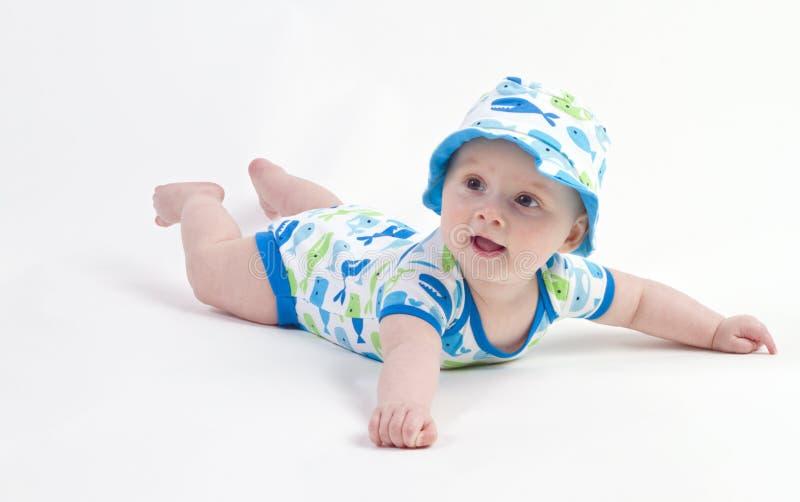 Nettes kleines Baby lizenzfreie stockfotografie