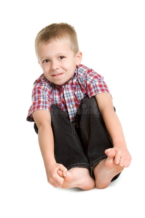 Nettes Little Boy stockfotos