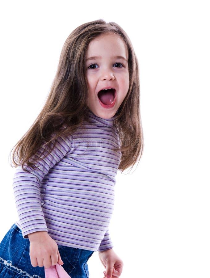 Nettes Mädchen lizenzfreie stockfotos