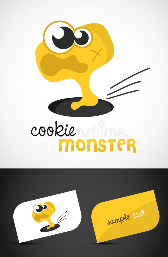 Nettes Monster lizenzfreie abbildung