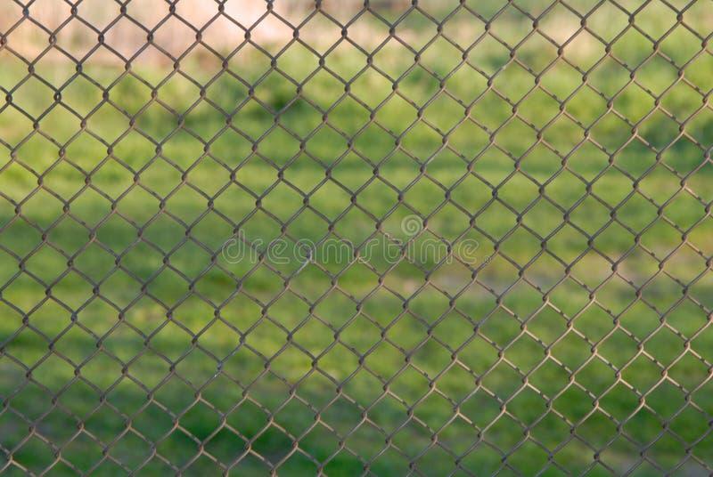 Netting fence royalty free stock photos