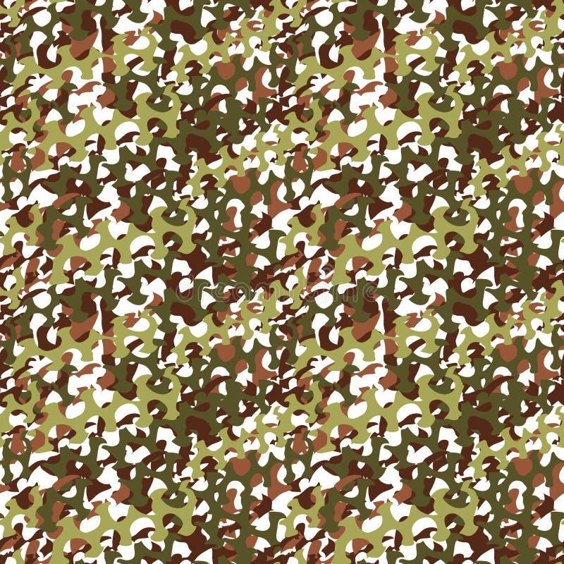 Netto camouflage, het naadloze patroon van het camoflagegrof linnen of textuur royalty-vrije illustratie