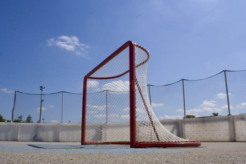 Download Netto Het Hockey Van De Rol Stock Afbeelding - Afbeelding bestaande uit blauw, dwarsbalk: 10779701