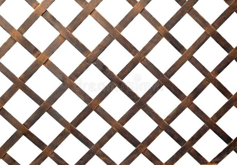 Netto het ijzer of de staalkooi isoleert op witte achtergrond royalty-vrije illustratie