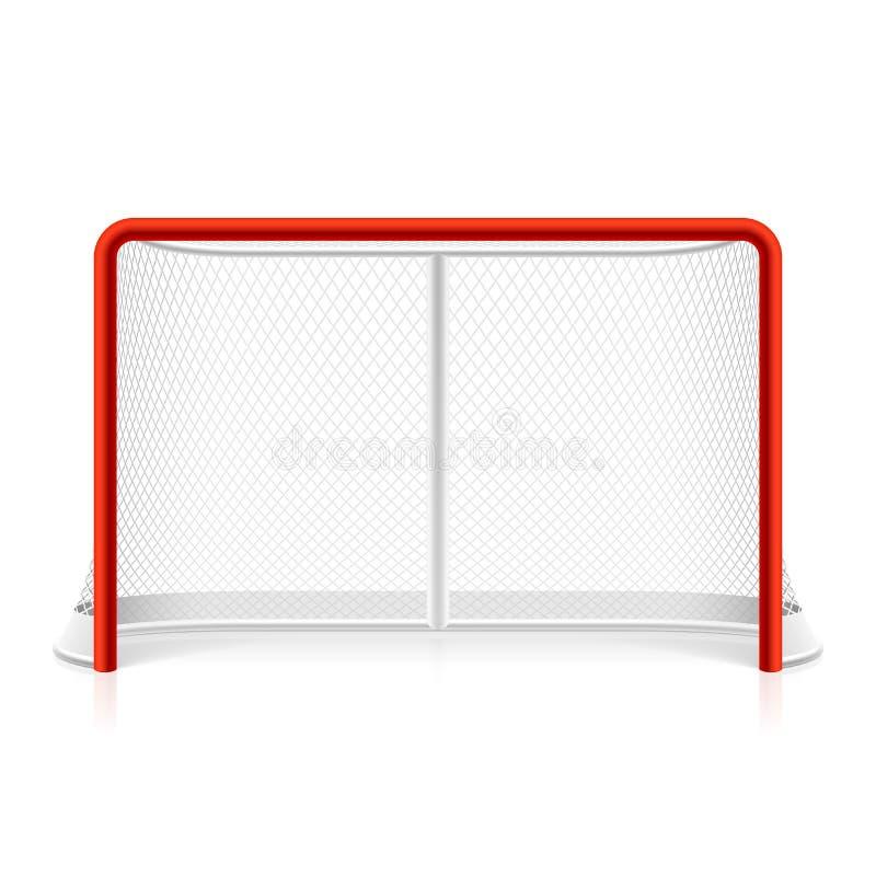 Netto ijshockey royalty-vrije illustratie