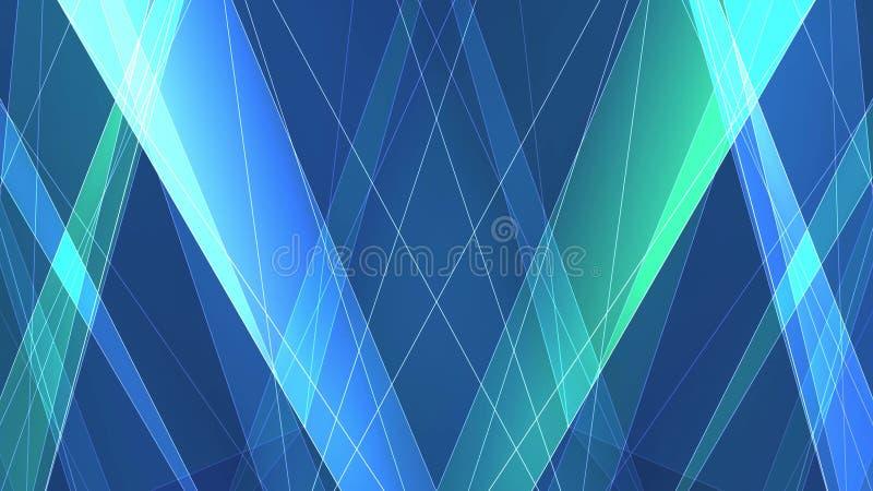 Netto linjer bild för abstrakt symmetrisk poligon för satock för ny kvalitets- teknologi för illustrationbakgrund färgrik vektor illustrationer
