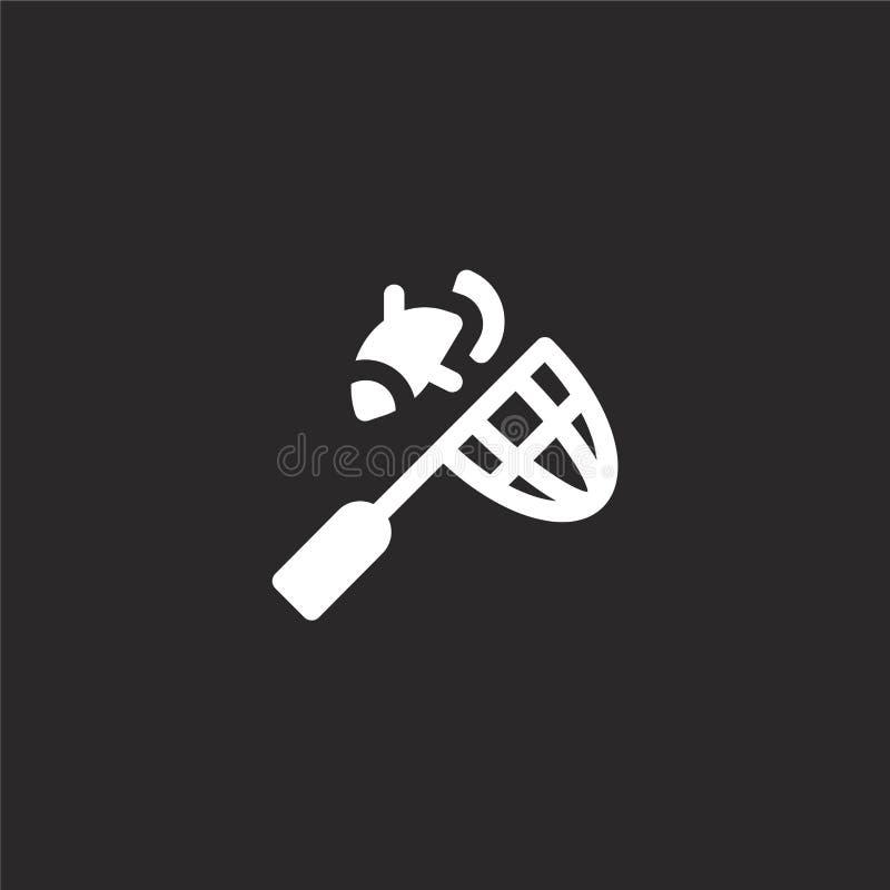 netto pictogram Gevuld netto pictogram voor websiteontwerp en mobiel, app ontwikkeling netto pictogram van gevulde geïsoleerde vi stock illustratie