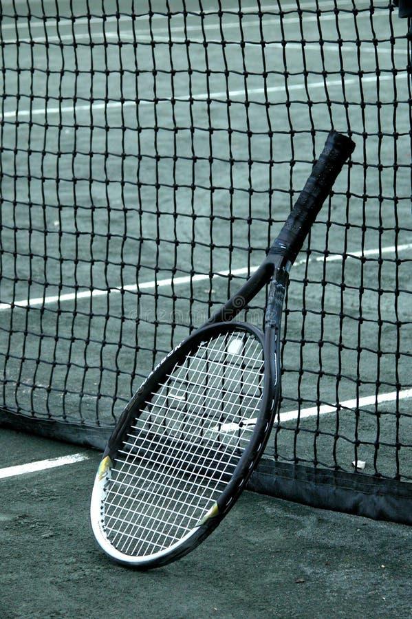 netto racket royaltyfri bild