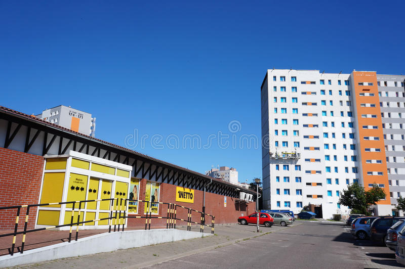 Netto supermarket royalty free stock images