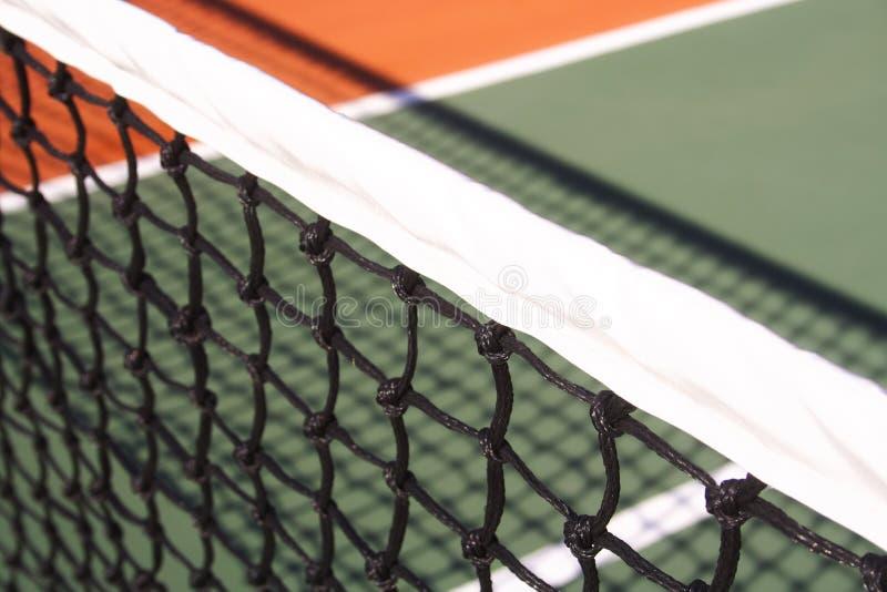 netto tennis arkivbild
