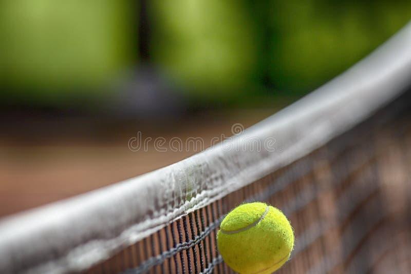 Netto tennisbal stock illustratie