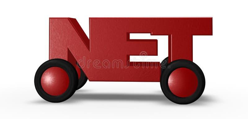 Download Nettofahrzeug stock abbildung. Illustration von technologie - 27729864