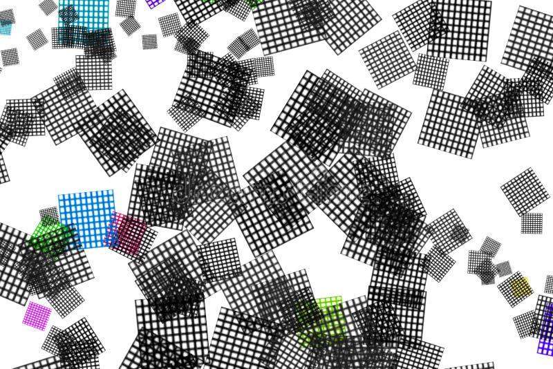 Nettotabellendesign auf dem weißen Hintergrund lizenzfreie stockfotografie