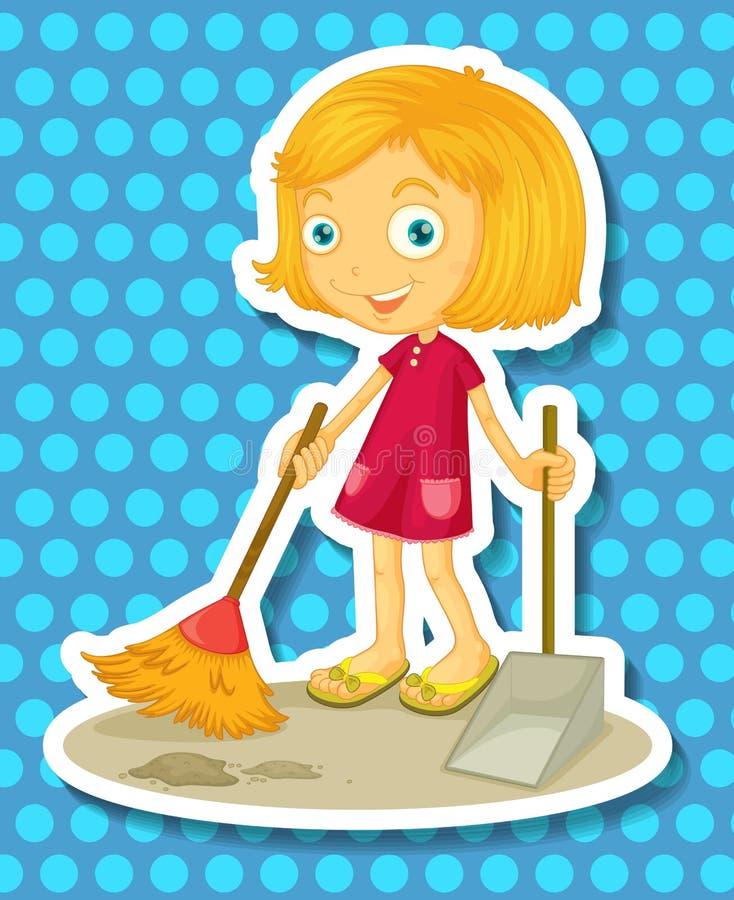 Nettoyage illustration stock