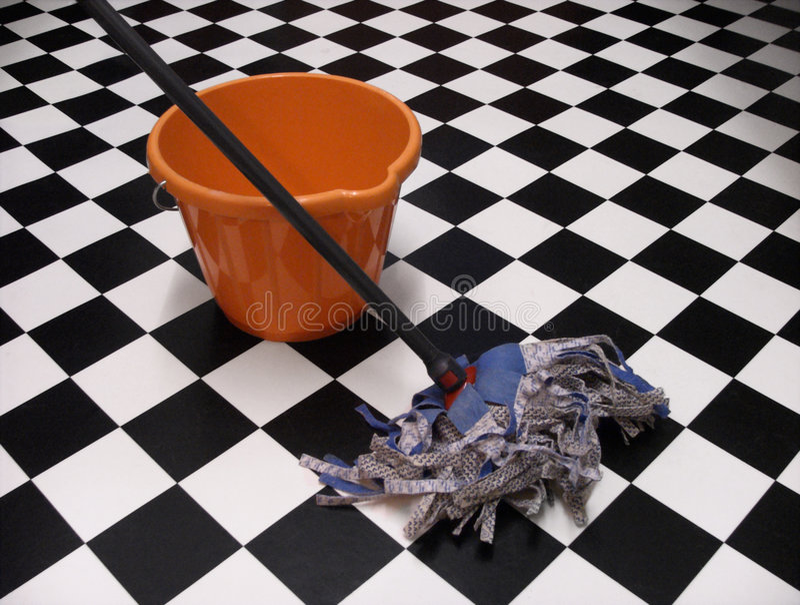 Nettoyage photo stock
