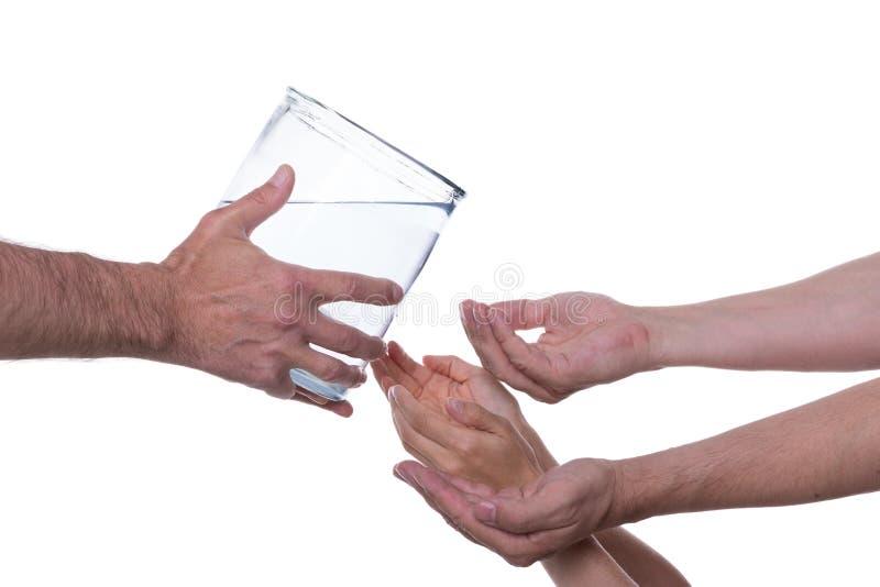 Nettoyez l'eau potable photos libres de droits