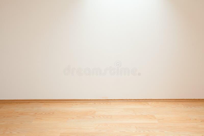 Nettoyez l'intérieur de pièce blanche photos libres de droits