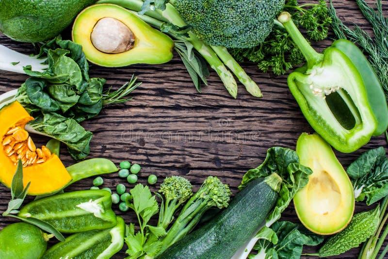 Nettoyez le concept s de nourriture images libres de droits