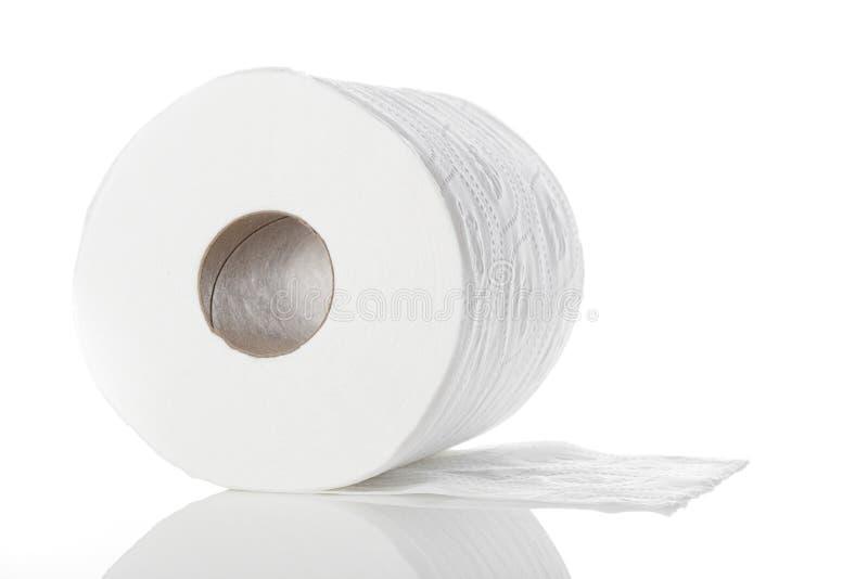 Nettoyez le papier hygiénique blanc images libres de droits