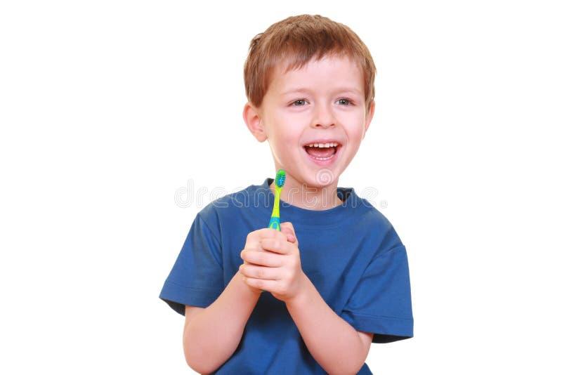 Nettoyez les dents photos stock