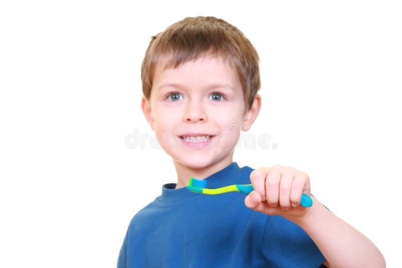 Nettoyez les dents photographie stock libre de droits