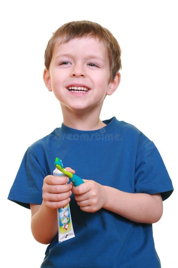Nettoyez les dents image stock